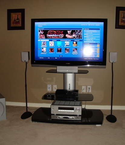 Image That Represents The Concept of Home Theatre System is essential for Effective Gaming.